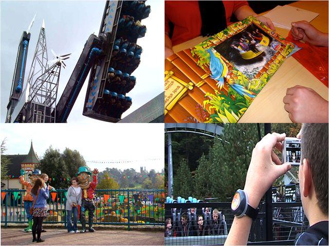 Themepark montage